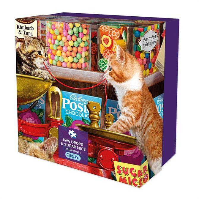 Gibsons Paw Drops & Sugar Mice 500 Piece Puzzle