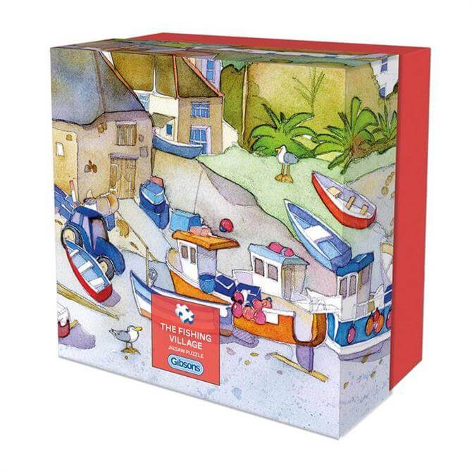 Gibsons The Fishing Village 500 Piece Gift Puzzle