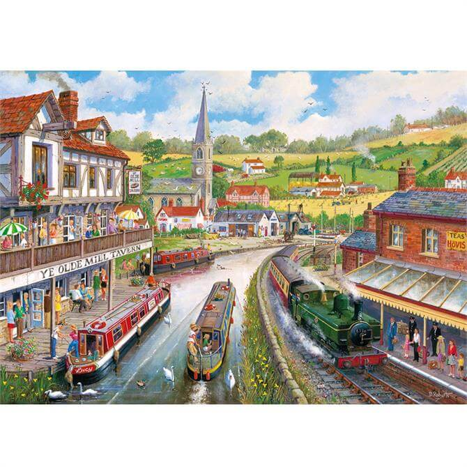 Gibsons 500 XL Ye Old Mill Tavern Jigsaw Puzzle