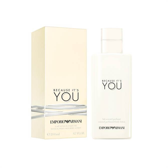 Emporio Armani Because It's You Body Lotion 200ml
