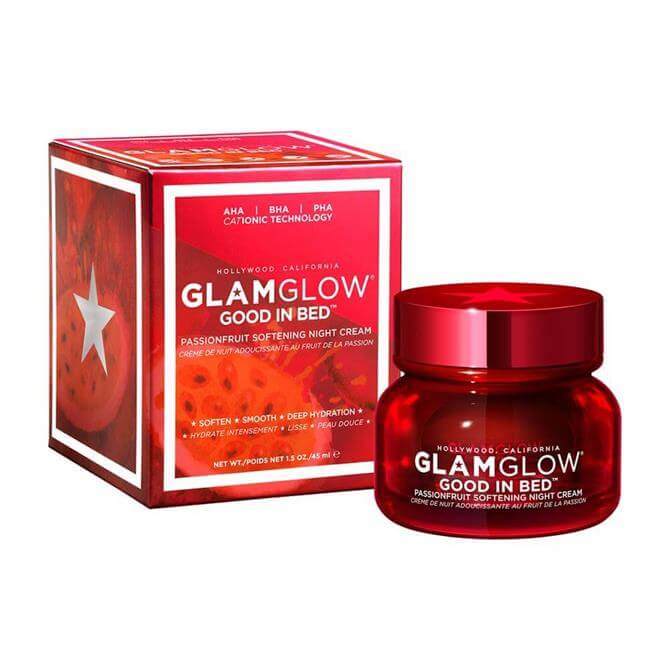 GlamGlow Good In Bed Passionfruit Softening Night Creme™