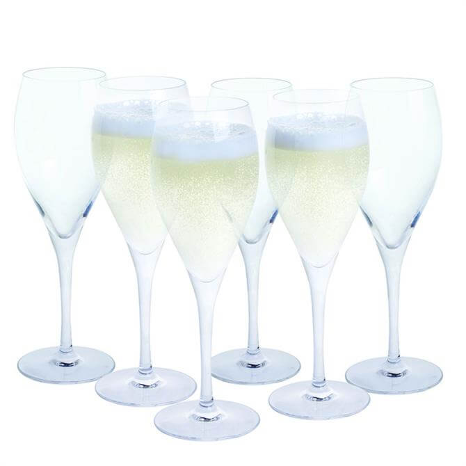 Dartington Prosecco Glass Party 6 Pack