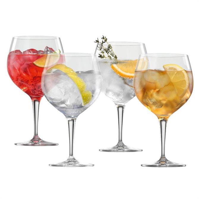 Nachtmann Spiegelau Gin & Tonic Glasses: Set of 4