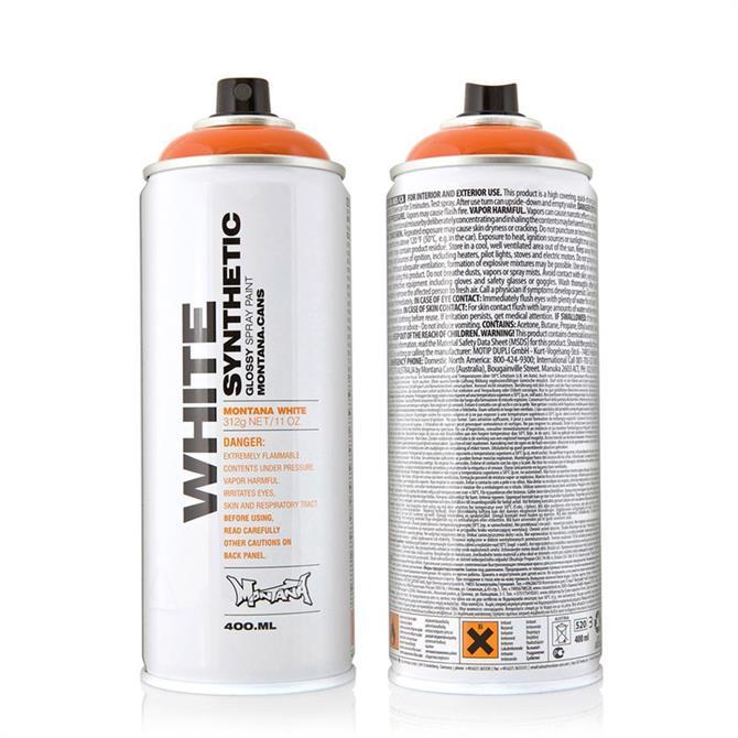 Montana White 400ml Spray Paint