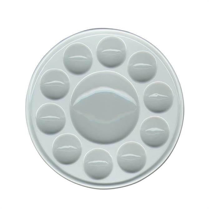 Global Art Supplies Ceramic 10 Well Circular Palette