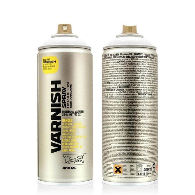 Montana Semi Gloss Varnish Spray