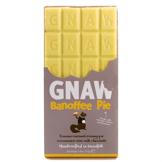 Gnaw Banoffee Pie Chocolate Bar 100G