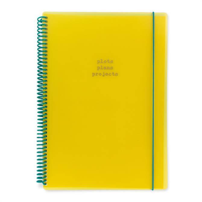 Go Stationery A4 Colourblock Polypropylene Notebook