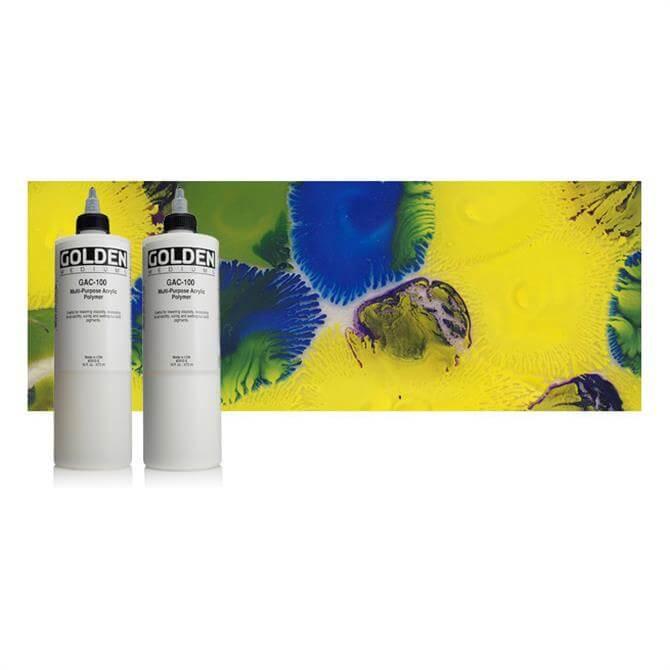 Golden GAC 100 Universal Acrylic Polymer 236ml