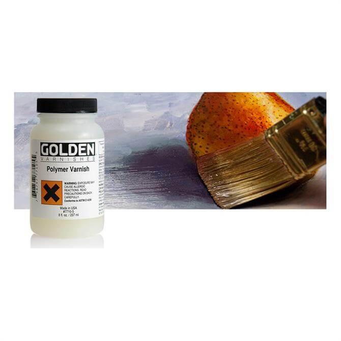 Golden Polymer Varnish Satin 236ml