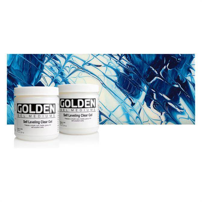 Golden Self Levelling Clear Gel 236ml