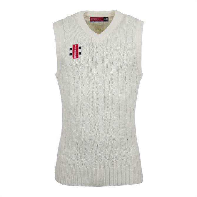 Gray Nicolls Junior Ivory Acrylic Slipover