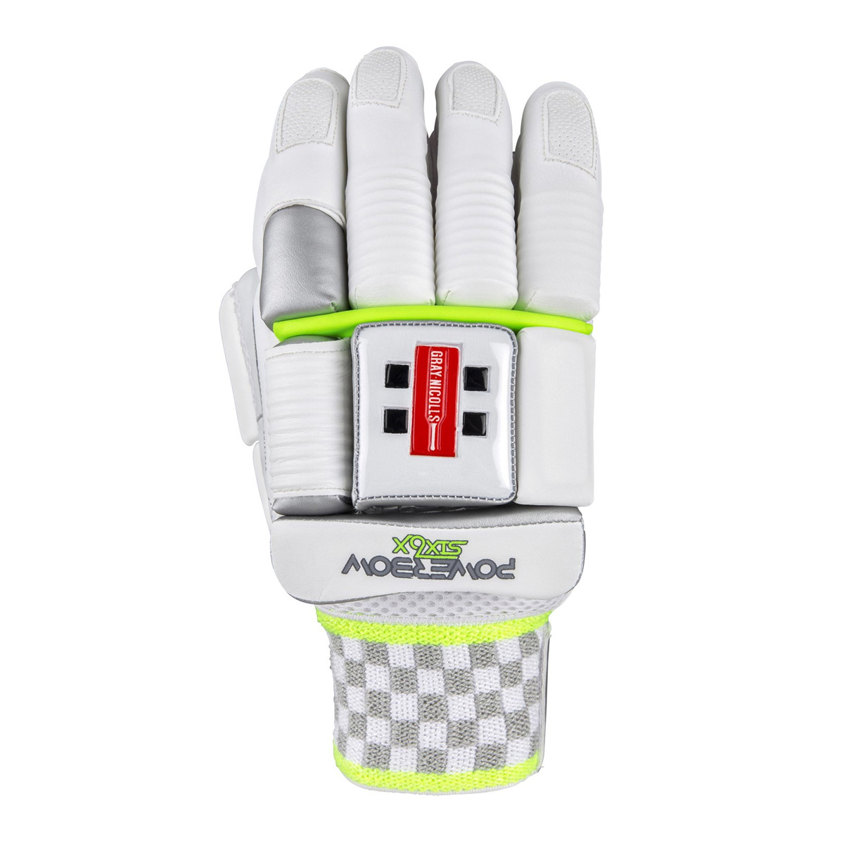 An image of Gray-Nicolls Powerbow6X 700 Batting Cricket Gloves - M LH