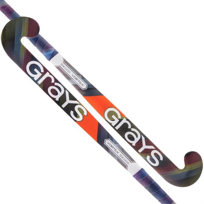 Grays Junior GX-CE Vortex Ultrabow Hockey Stick - Pink/Purple