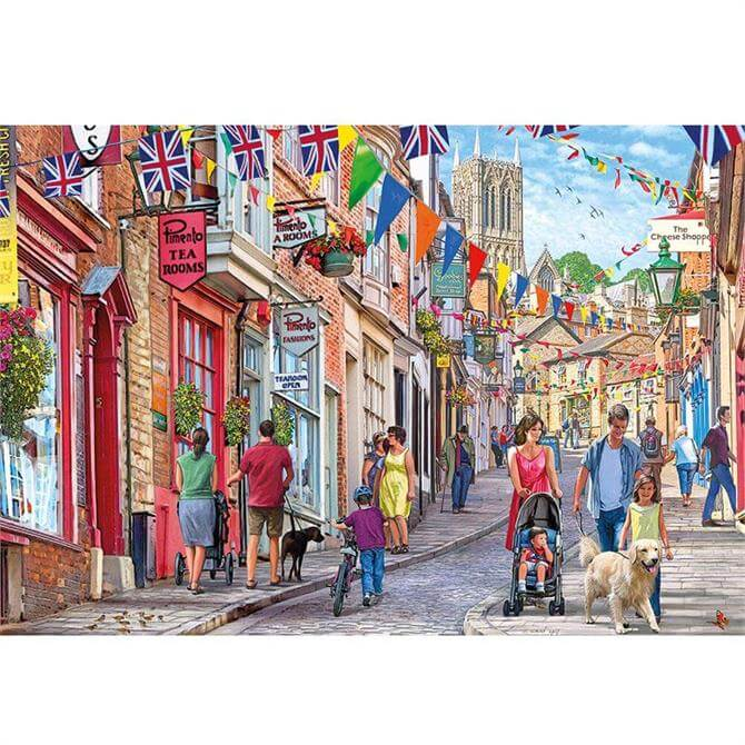 Gibsons 1000 Piece Steep Hill Jigsaw Puzzle