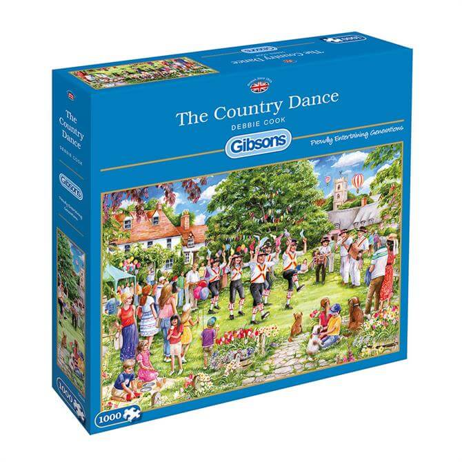 Gibsons 1000 Piece The Country Dance Jigsaw Puzzle