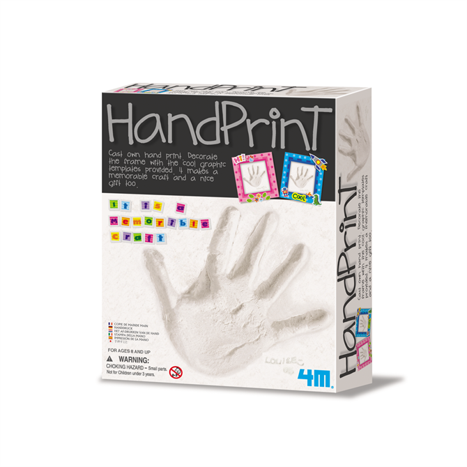 Great Gizmos Make Your Own Hand Print