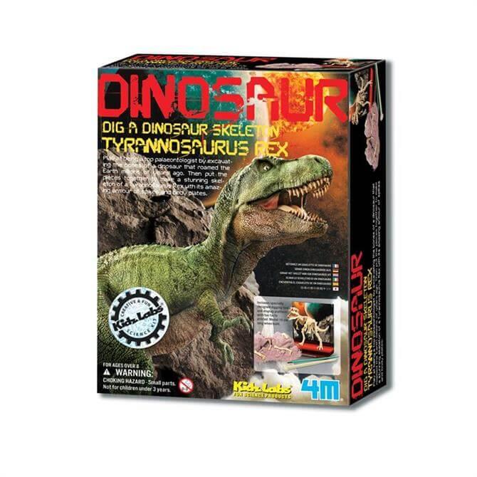 Great Gizmos KidzLabs Dig-A-Dino Skeleton T-Rex