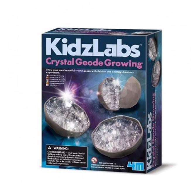 Great Gizmos Kidz Labs Crystal Geode Growing