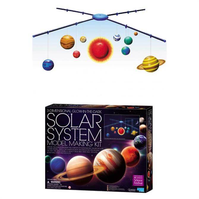 Great Gizmos Glow-in-the-Dark Solar System Mobile Kit