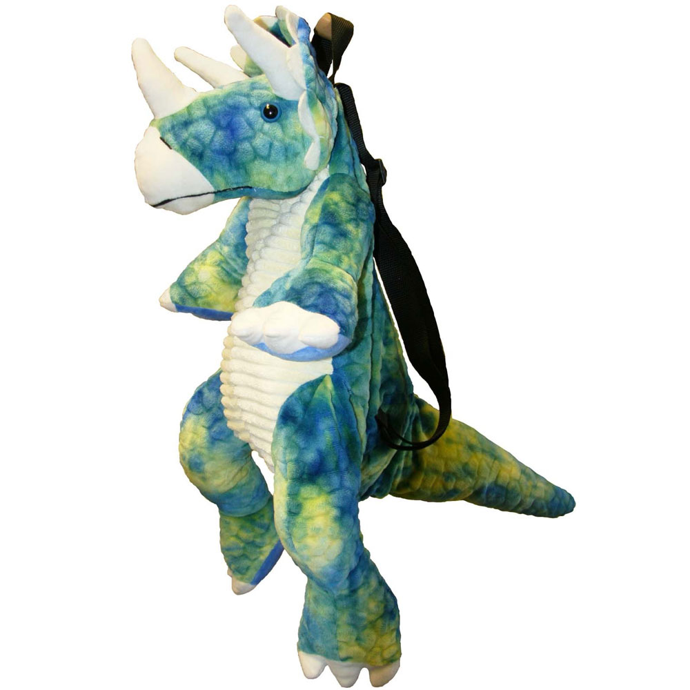 An image of Great Gizmos Backpack - TRICERATOPS