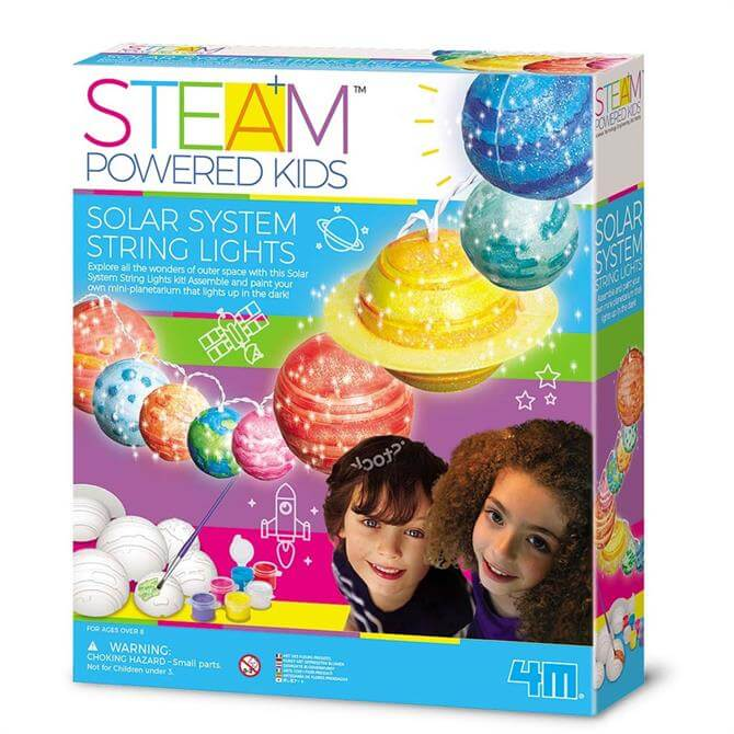 Great Gizmos 4M STEAM Powered Solar System String Lights