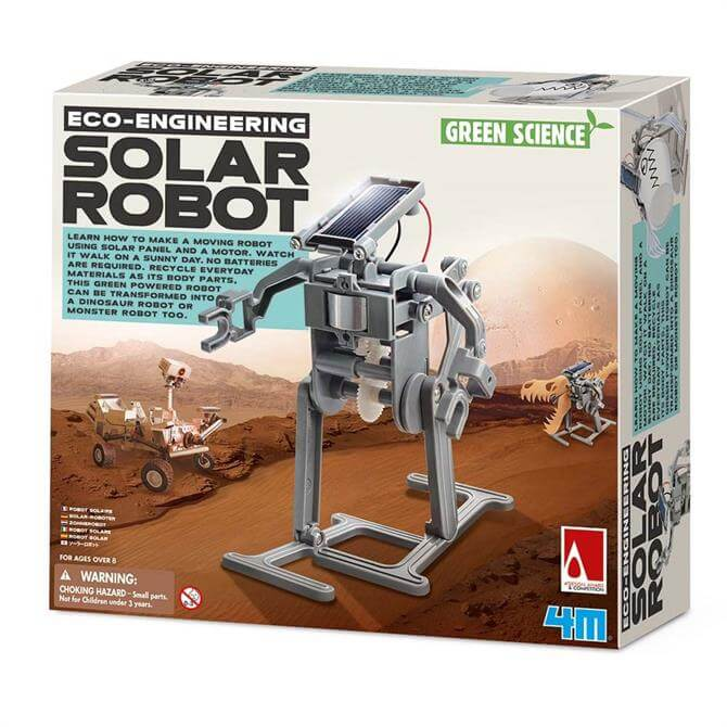 Great Gizmos 4M Green Science Solar Robot