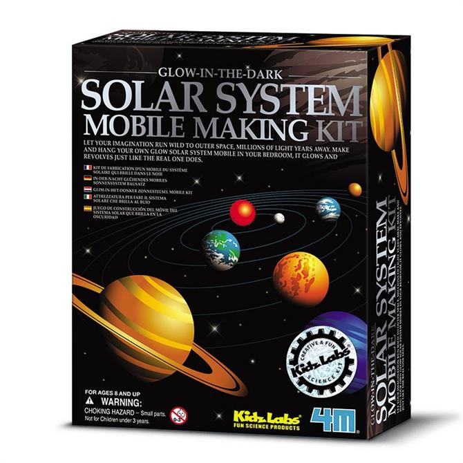 Great Gizmos Kidz Labs Solar System Mobile Making Kit