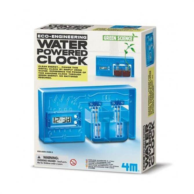 Great Gizmos Labs Water Powered Clock