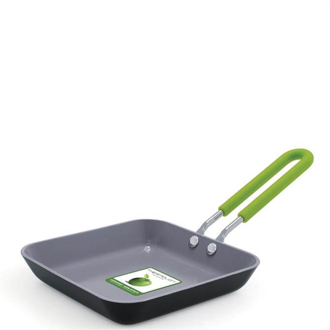 GreenPan Mini Essentials Ceramic Non-Stick Square Egg Expert