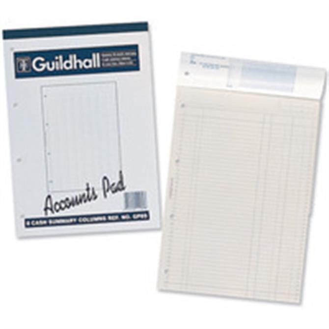 Guildhall Acc Pad Cash A4 GP6