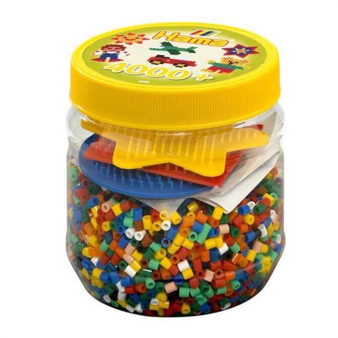 Hama 4000 Beads Board Tub Yellow