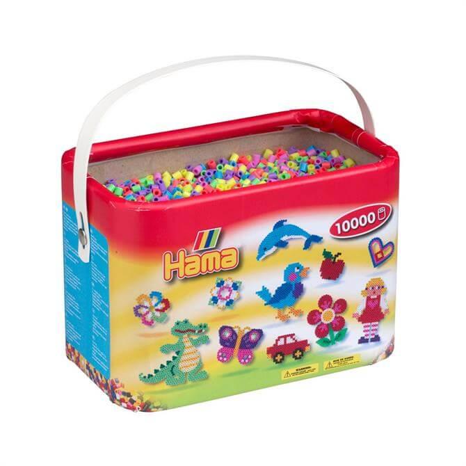 Hama Bucket Bead Mix 10000 Pastel