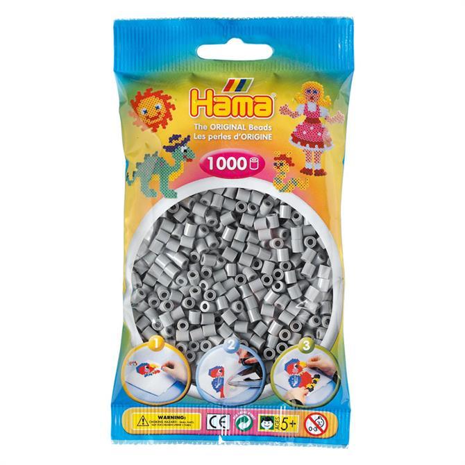 Hama Midi Beads 1000 Grey