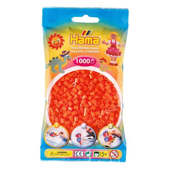 Hama Midi Beads 1000 Orange