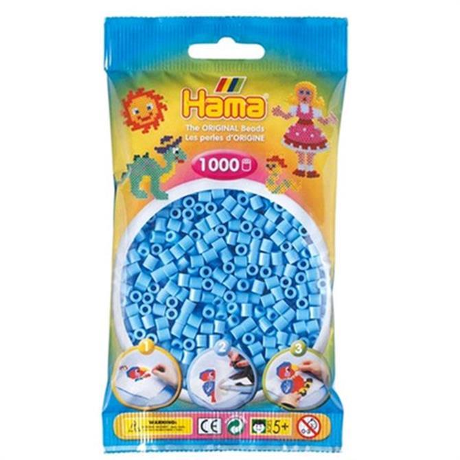 Hama Midi Beads 1000 Pastel Blue