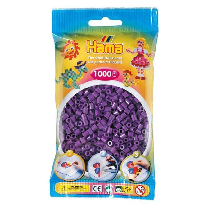 Hama Midi Beads 1000 Purple