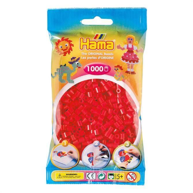 Hama Midi Beads 1000 Red