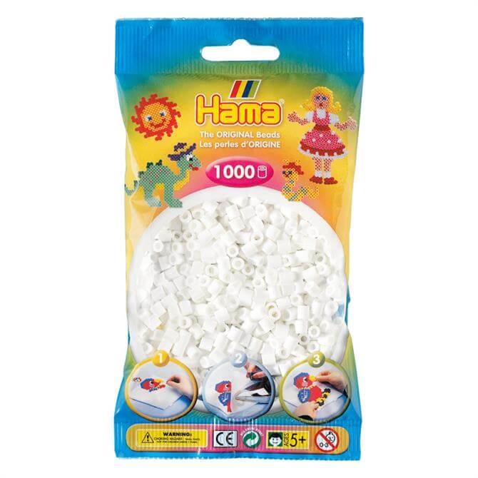Hama Midi Beads 1000 White