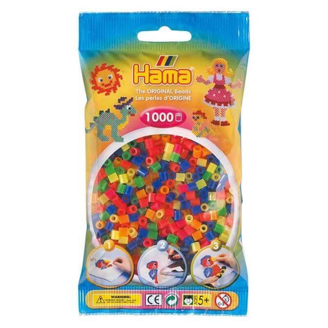 Hama Midi Beads Mix 1000 Neon