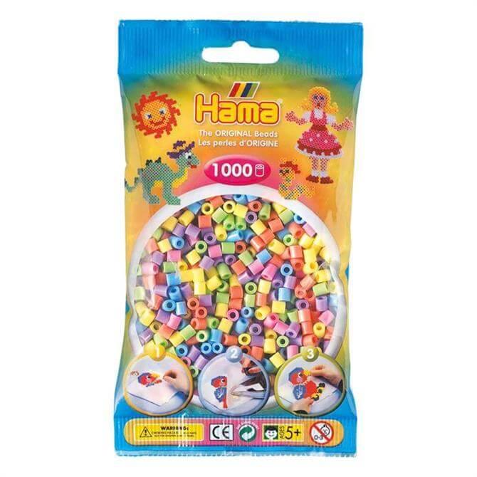Hama Midi Beads Mix 1000 Pastel