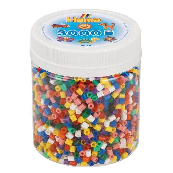 Hama 3000 Solid Beads Tub