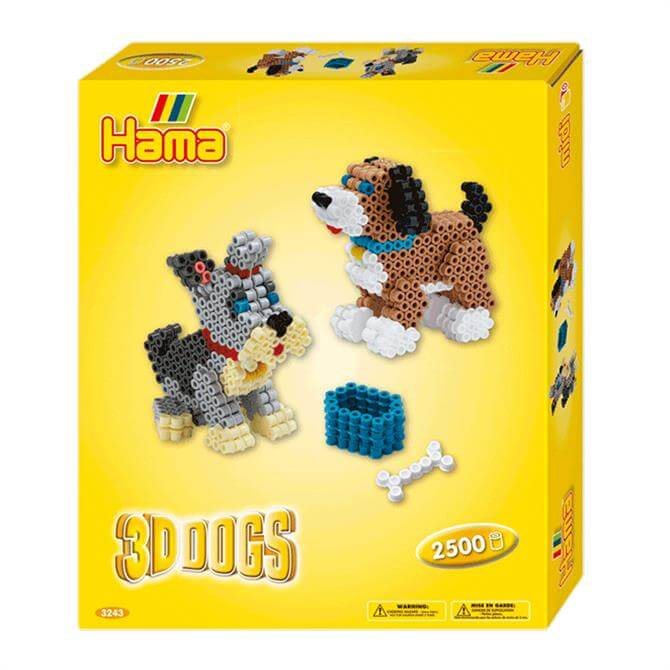 Hama 3D Dogs