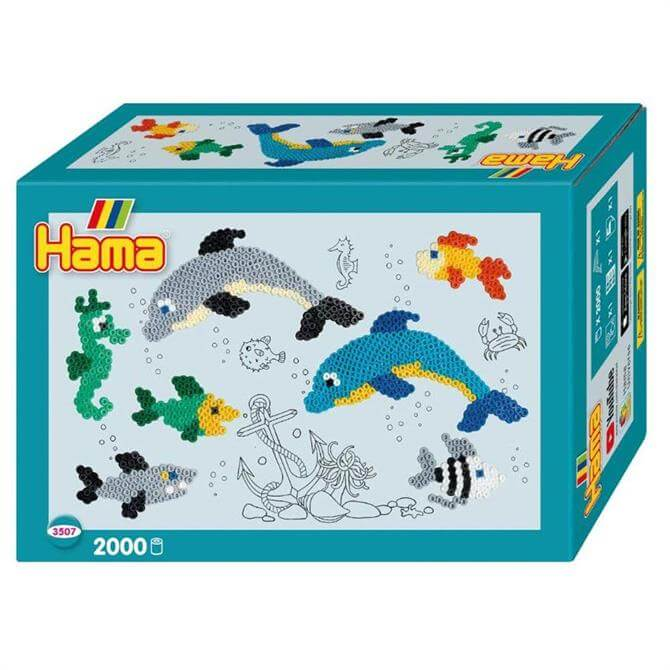 Hama Dolphins Small World Set