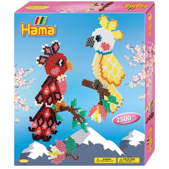 Hama Parrots Gift Box