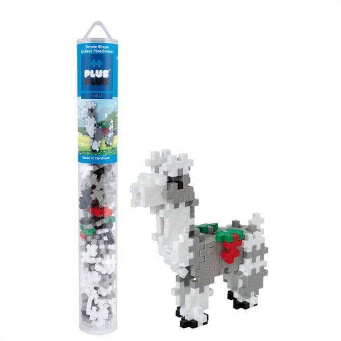 Plus-Plus Llama Tube
