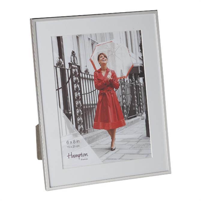 Hampton Framers Mayfair Silver Frame 6 x 8