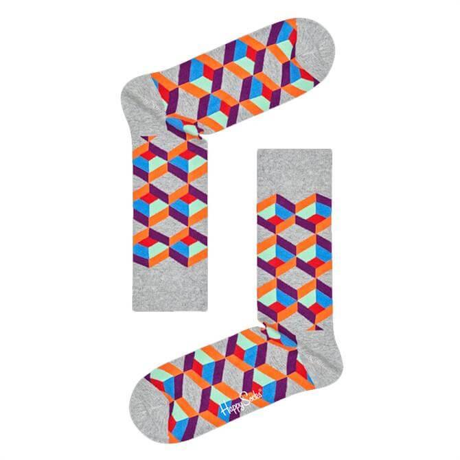 Happy Socks Optic Square Socks