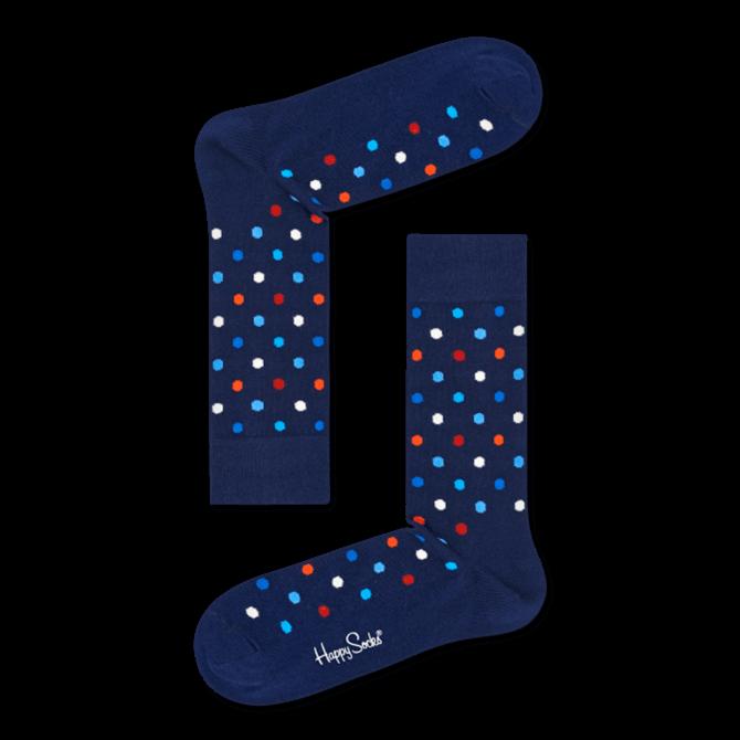 Happy Socks Dark Blue Dot Socks