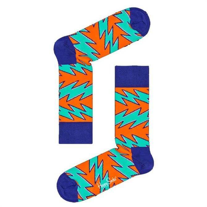 Happy Socks Rock 'n' Roll Stripe Socks